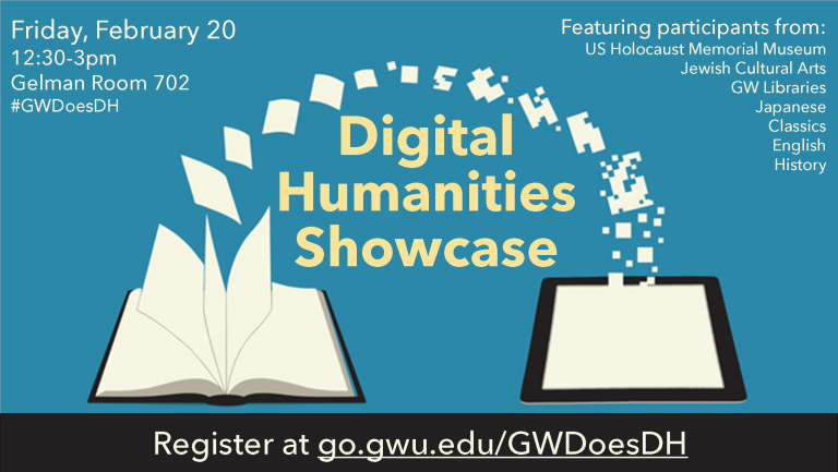 DH Showcase TODAY: Abstracts + Twitter Archive