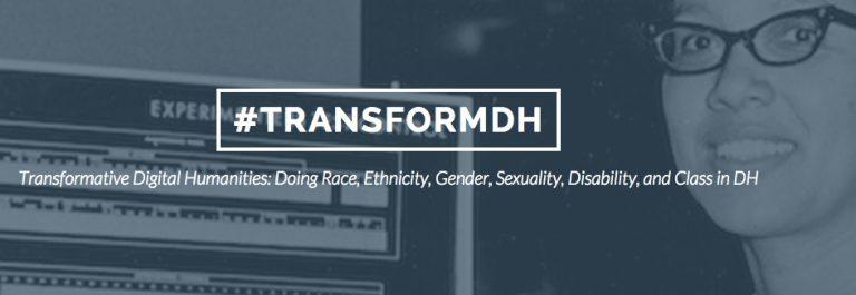 Transformative Digital Humanities at UMD; Register by September 15th