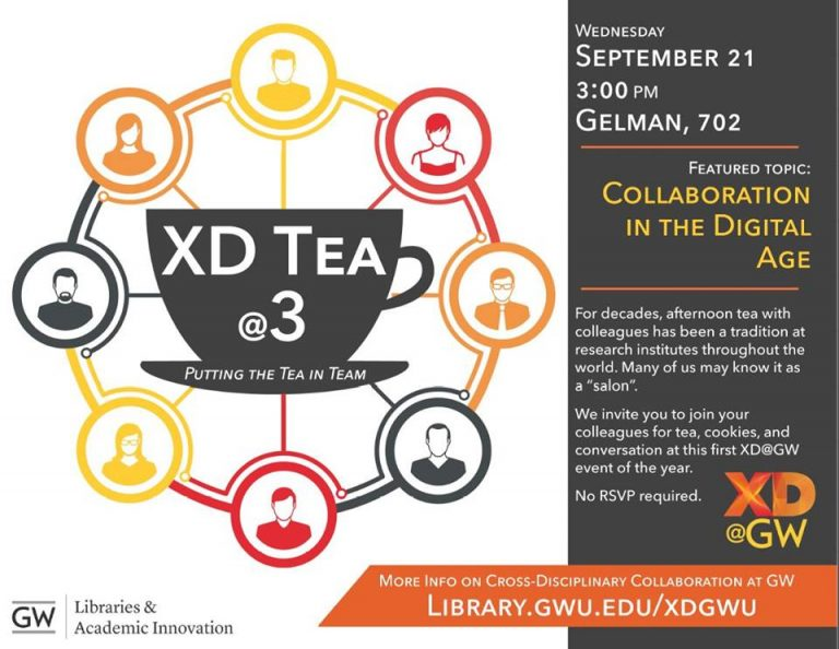 Join XD@GW for tea!